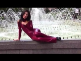 Latex City Tour of Sofia in a Catsuit and High heels