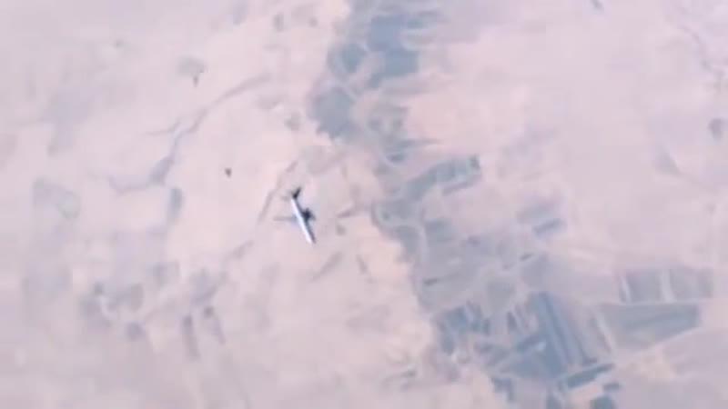 Перехват и сопровождение двух Rafale и топливозаправщика в Сирии сняли на видео