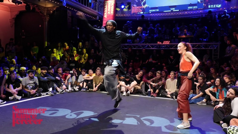 Byron Cox vs Chiara 2ND ROUND BATTLE House Dance Forever 2019