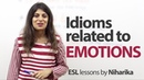 Idioms related to Emotions Free English Lesson