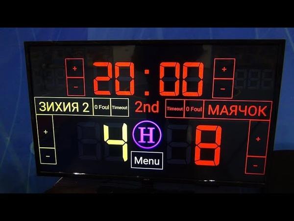 Чемпионат КБР по мини-футболу 201819. ПД. 1 тур. Зихия 2 - Маячок. 2 тайм.