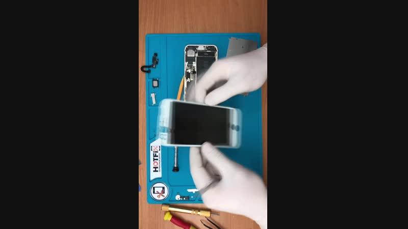 Замена дисплея iPhone 7 • HotFix 2 0