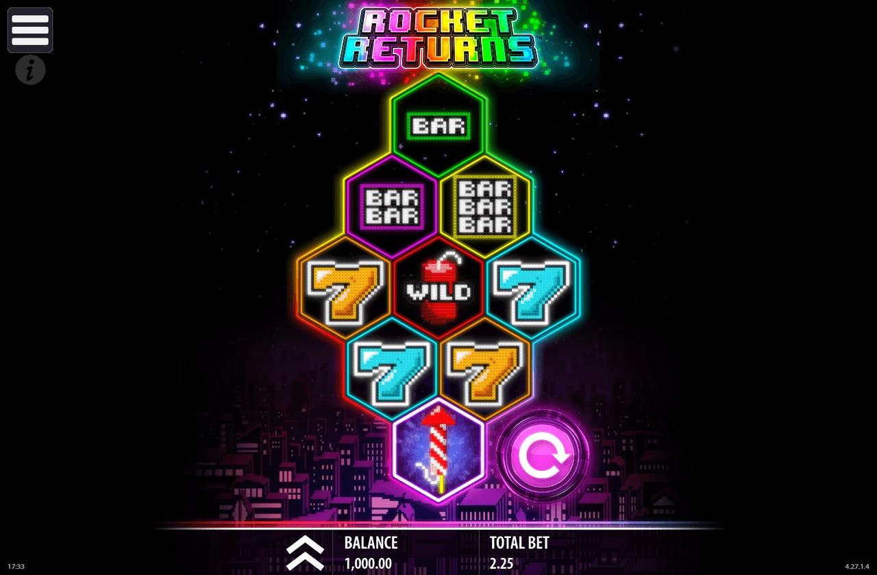 Игровые автоматы Ракета возвращается (Rocket Returns)