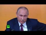 О Российской армии.  Путин рассказал анекдот про кортик и часы