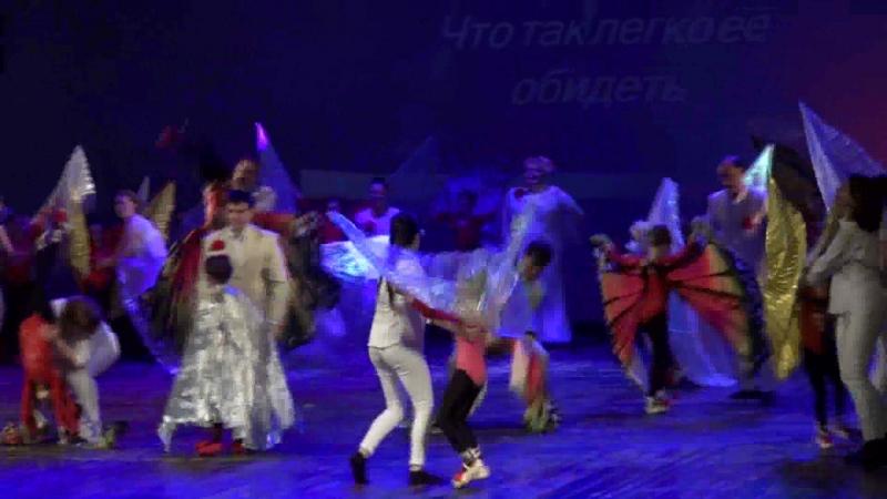 ОВАЦИЯ детский театр танца и песни ролик от телевидения Праздник непослушания лёгкий