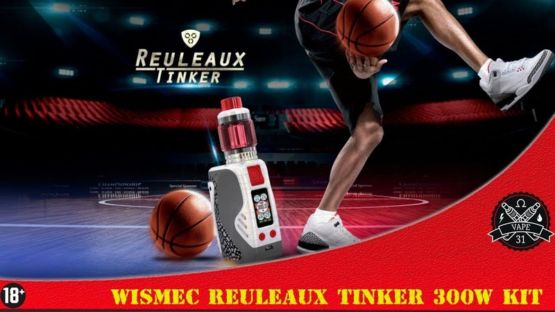 WISMEC Reuleaux Tinker 300w Kit with Column Tank | Vape31 Review