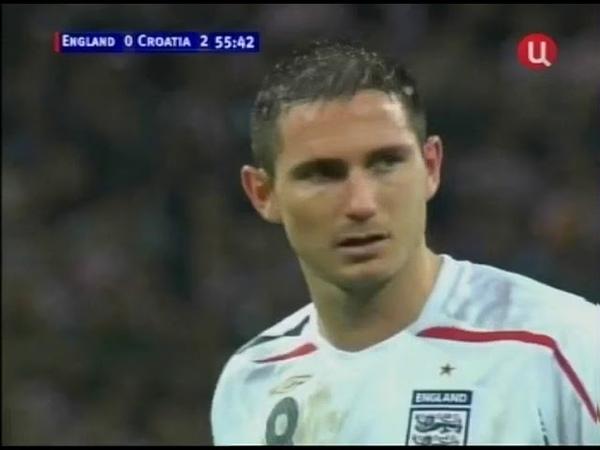 Англия 2-3 Хорватия / 21.11.2007 / England vs Croatia
