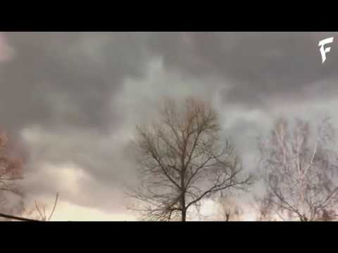 Гроза и шквалы (Ураган) в ЦФО, Россия | Thunderstorm in Russia