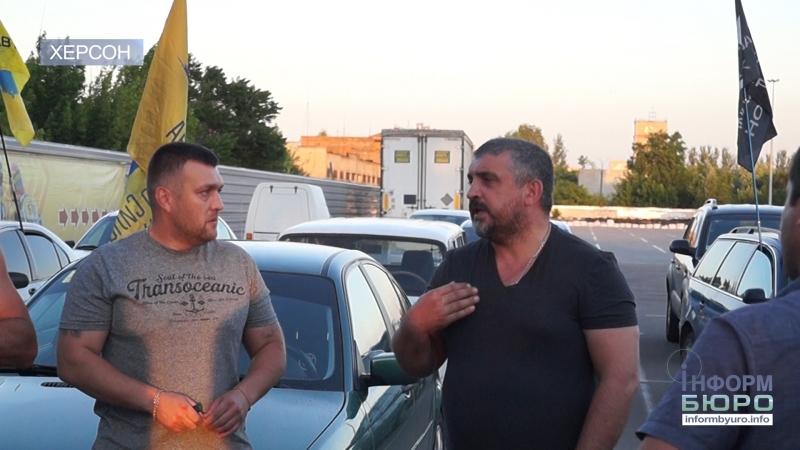 Керівник організації Авто Євро Сила Олег Ярошевич відвідав Херсон