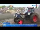 КРУТЫЕ ГОНКИ на ТРАКТОРАХ Ежегодные гонки на тракторах провели в Ростовской области - Россия 24