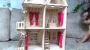 Деревянный кукольный домик с мебелью Деревянный кукольный домик своими руками