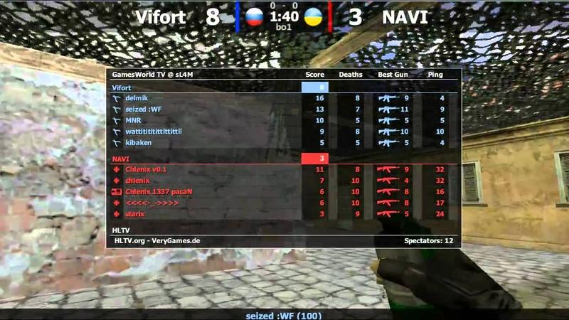 Кубок TECHLABS 2012: Na`Vi -vs- Vifort