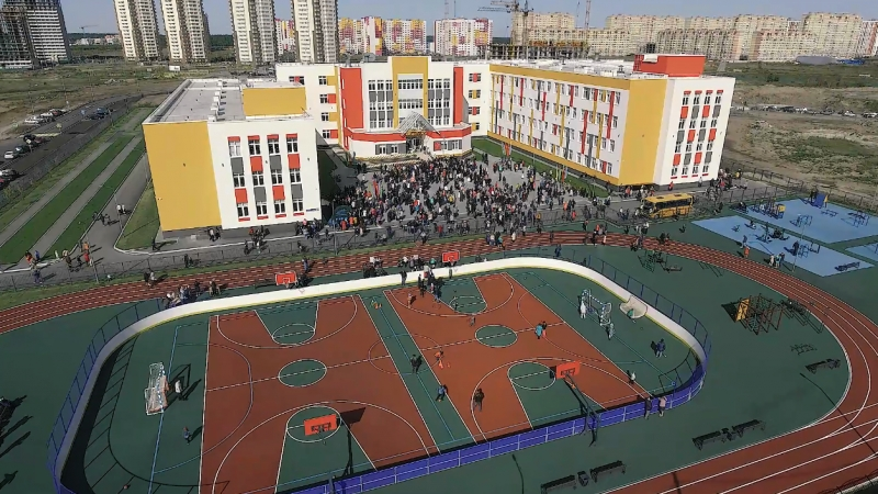 Открытие долгожданной школы в «Ямальском-2» Тюмень