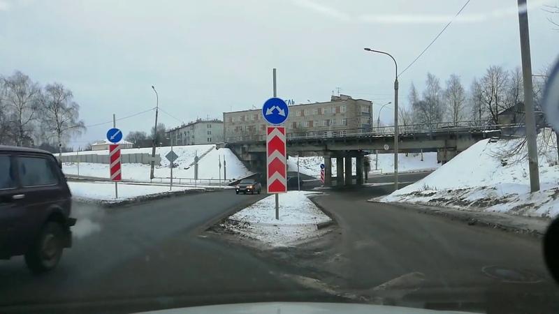 С ул. Плеханова к Скверу на ул. Гоголя через ЖД перекресток