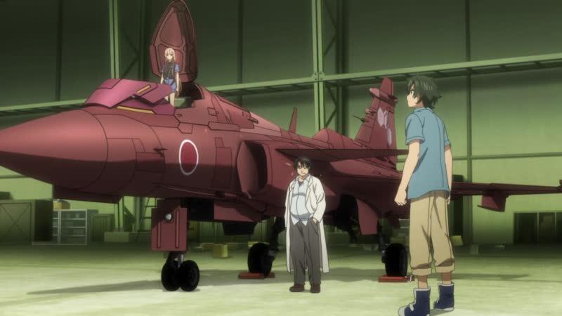 AniDub 02 серия Девичьи воздушные силы Girly Air Force