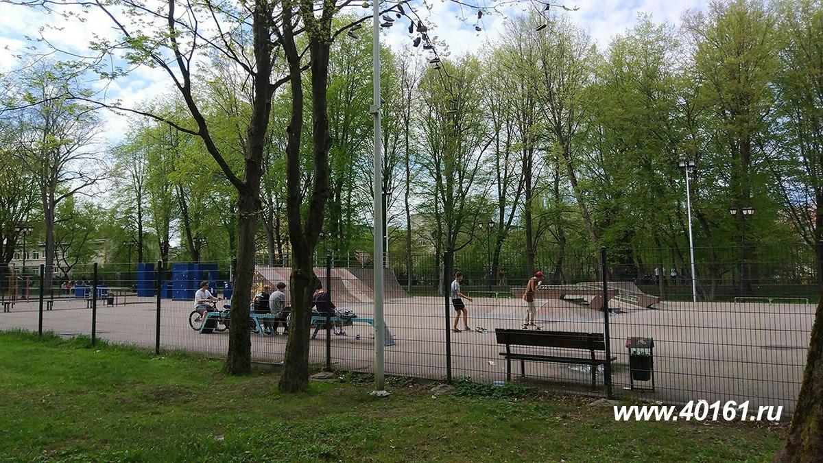 В Советске  депутаты задумались над  тем, как привести в порядок закрытый скейт-парк