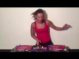 DJ Lady Style - Despacito edit (scratch video) - Luis Fonsi, Daddy Yankee Just