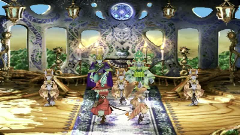 Final fantasy 9 Танец Фреи