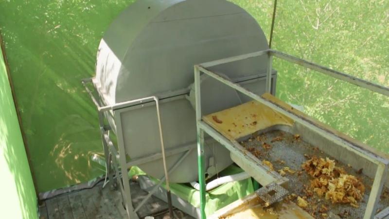 ЛЕПИЛЫ Передвижной мини цех по откачке мёда
