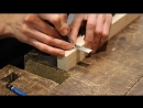 Joint Venture Ep 48 Through mortise and tenon with mitered faces Japanese Joi