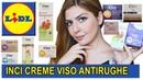 CREME VISO antirughe LIDL con Buon INCI sono davvero buone Recensione cosmetici antirughe CIEN