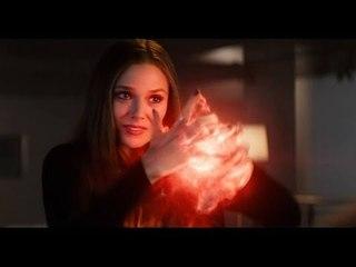 Scarlet Witch (Wanda) & Vision - VNV Nation - Illusion (Please don't go)