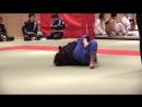 20180225 JBJJF 第12回全日本マスター柔術選手権 女子マスター1青帯ライトフェザー級 1回戦 古谷