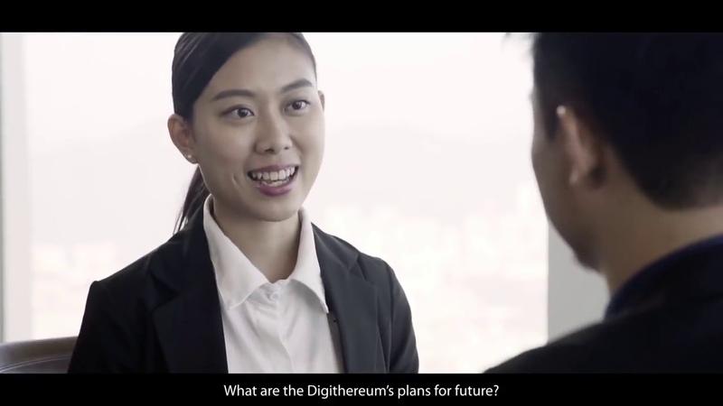 Digithereum Уникальное интервью с директором по маркетингу компании Digithereum Русская версия