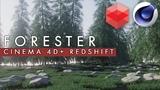 Плагин Forester Cinema 4D &amp Redshift