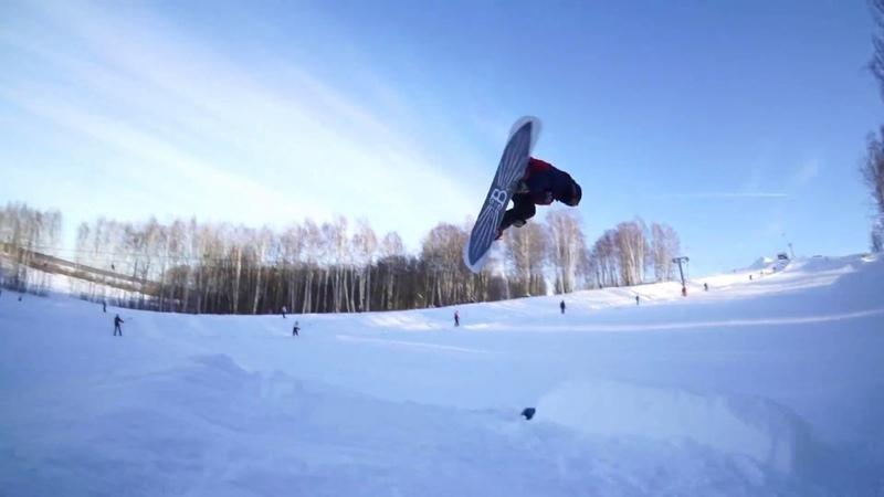 Тренировки по сноуборд фристайлу в Ярбатут/Подолино