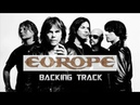 Final Countdown Solo Part Backing Track By Europe