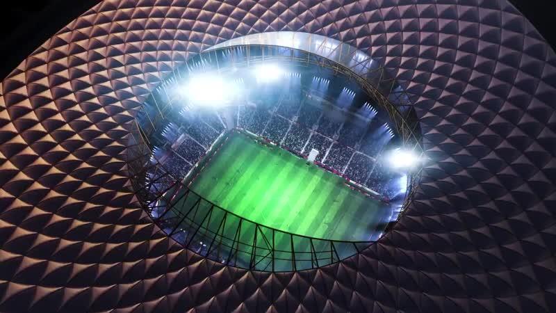 Главный стадион ЧМ-2022. Арена в Лусаиле вместит 80 тысяч зрителей.