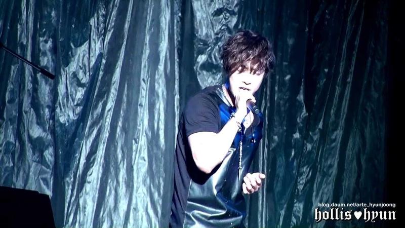 121004 Kim Hyun Joong 김현중 - I'm Your Man (Rock ver.) @ Budokan