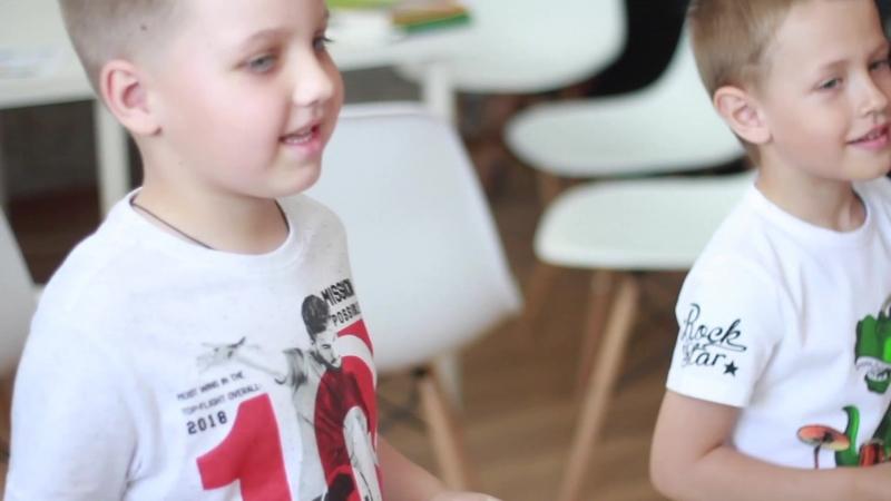 Занятия у деток 4 5 лет Lingua ⭐️ Star