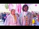 Филипп Киркоров и Катя Гусева на красной дорожке премии телеканала RU TV.