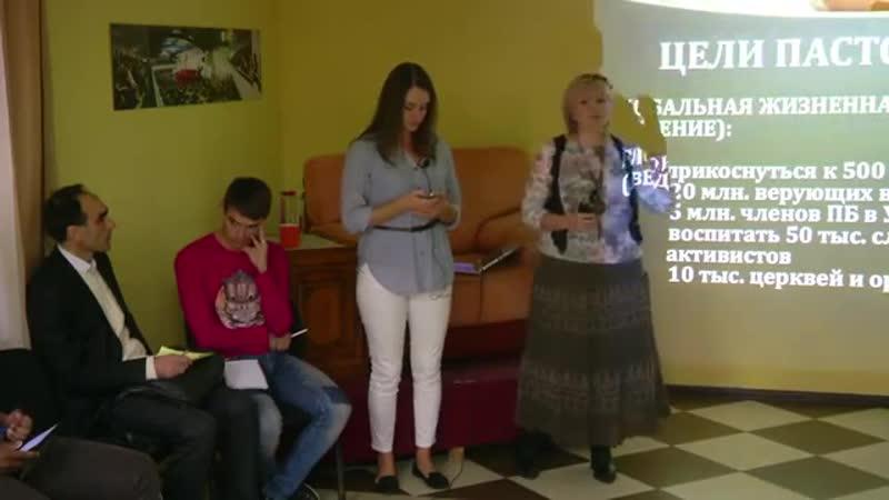 7. HMT. 05.11.2015. P. Oksana Madyudya. How to raise people and start churches