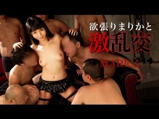 Японское порно marica haze japanese porn group sex, orgy, cunnilingus, stockings, blowjob, cum in mouth, creampie