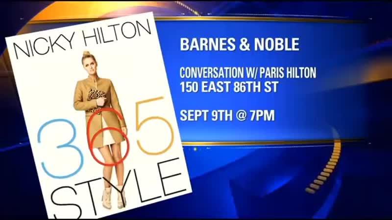 Nicky Hilton writes fashion book 365 Style