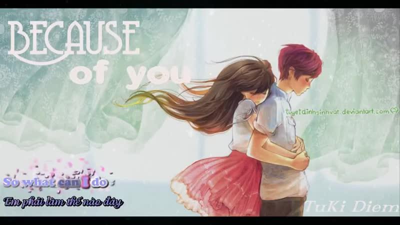 Because of you - by2 [ lyrics vietsud ] ( My lit(480P).mp4