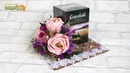 ПОДАРКИ СВОИМИ РУКАМИ ☆ Оформление коробки чая цветами из конфет ☆ Diy ☆ Упаковка подарков