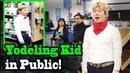 YODELING IN WALMART SINGING IN PUBLIC Yodeling kid