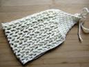 Easy Crochet Headband BEACH BANDANA Mesh tutorial beginners Happy Crochet Club
