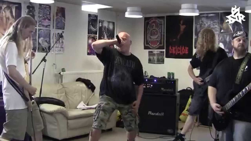 Six String Slaughter - Born Unspoiled (rehearsal footage)