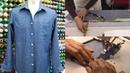 シャツの作り方・縫い方 Part2「裁ち合わせ 中間アイロン 前立て作り1