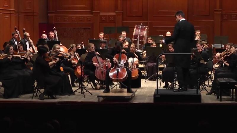 К. Сен-Санс – Концерт ля минор для виолончели с оркестром. Белгородская филармония