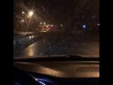 Первый снег в Уфе