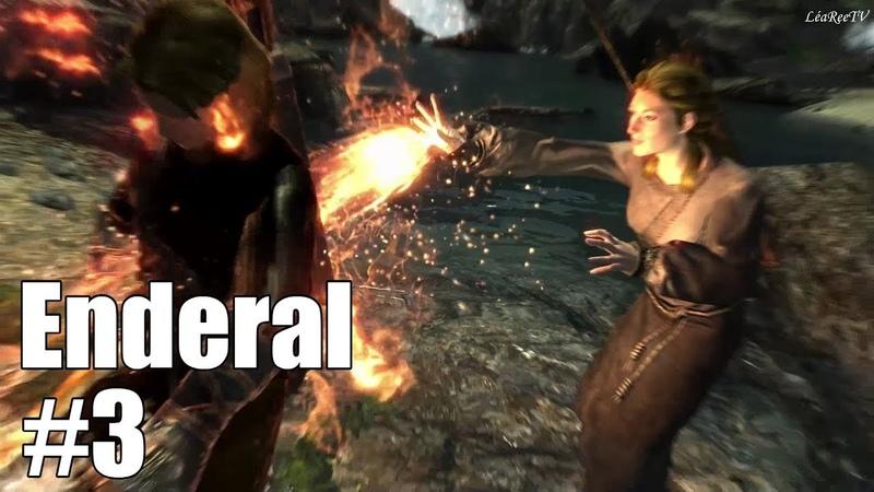 АСМР ASMR Enderal - лучший мод Skyrim! Прохождение. Первые баттлы и дорога до Речного 3