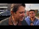 Fernando Haddad e Gleisi Hoffmann visitam Lula