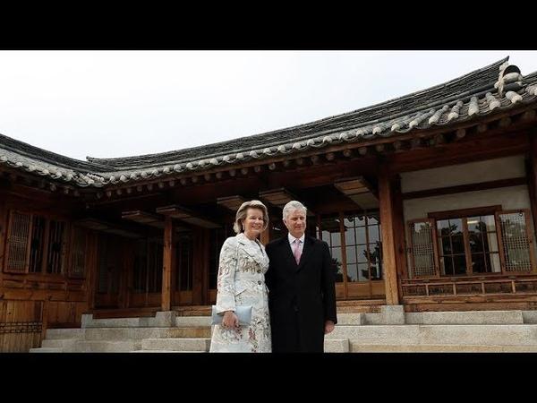 Belgian King makes state visit to Korea