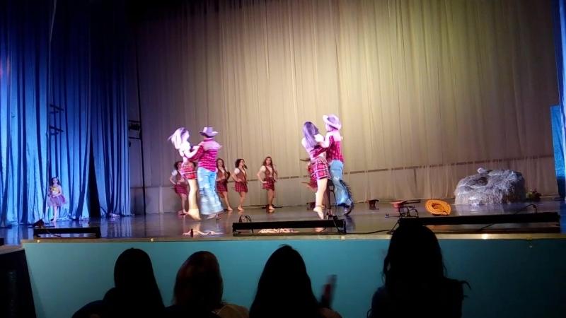 танец ковбоев Кати